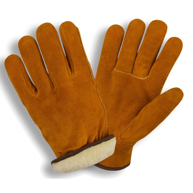 Leather Driver Insulated Gloves